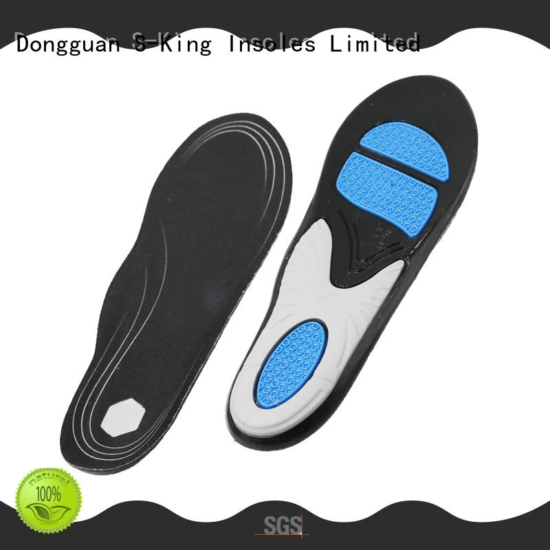 S-King gel insoles for running manufacturers for foot care
