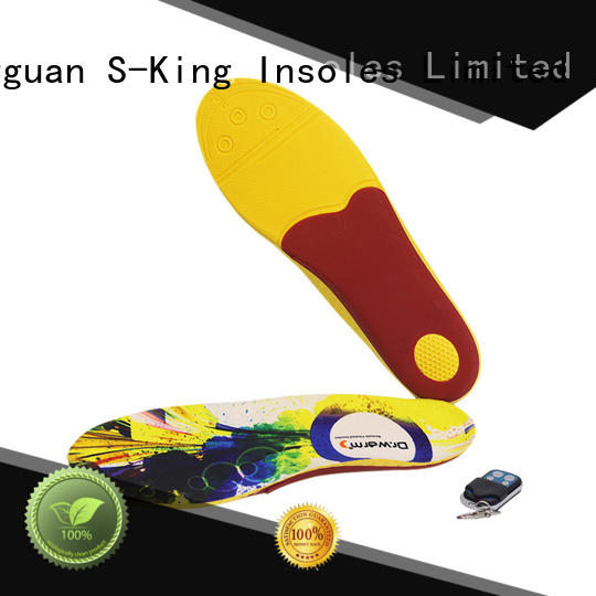 Wholesale reusable heated insoles factory for shoes