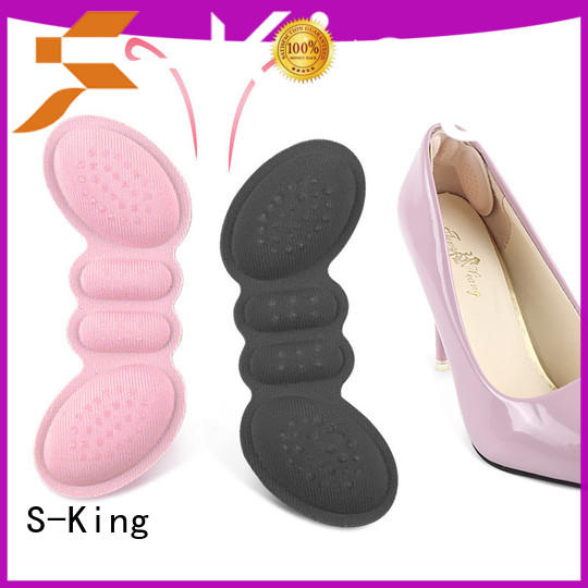 S-King New thin heel grips company for discomfort
