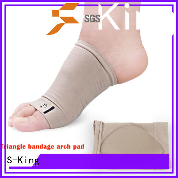 S-King plantar arch support sleeves stretchers for overlapping toes