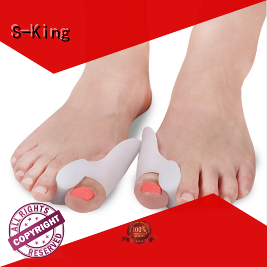 S-King toe separators factory for bunions