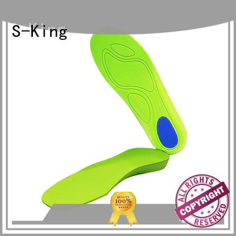 S-King Top orthotic heel inserts manufacturers for eliminate pain