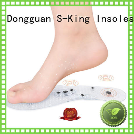 S-King Brand magnetic acupuncture custom magnetic insoles for shoes