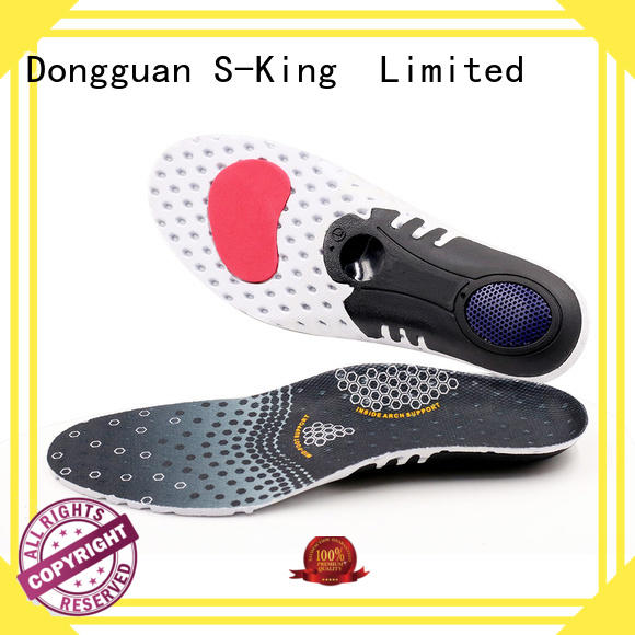 Rechargeable comfort insoles half length for winter