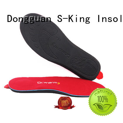 innovative heatable insoles with soft heel pad shoes