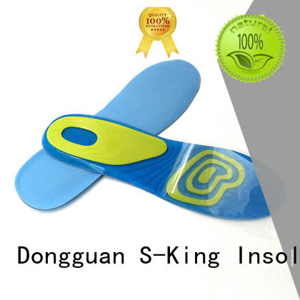 S-King Brand balance absorption gel insoles gel insoles