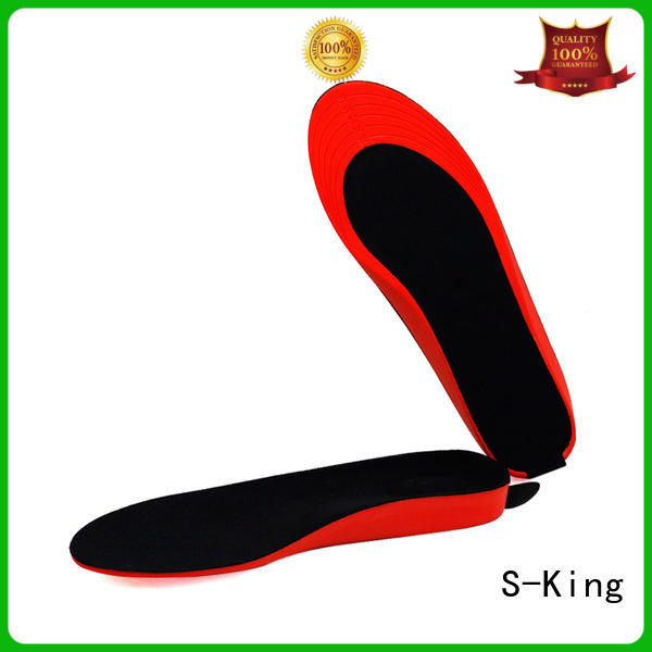 S-King Wholesale 12 volt heated insoles factory for golfing