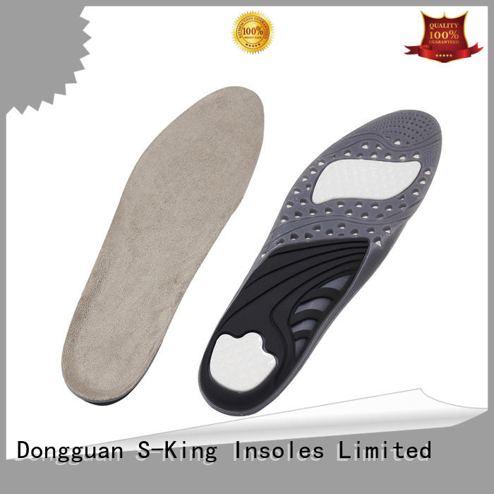S-King mens gel insoles manufacturers for foot care