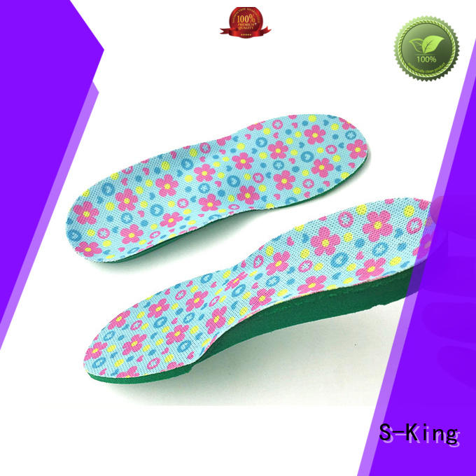 S-King kid insoles factory