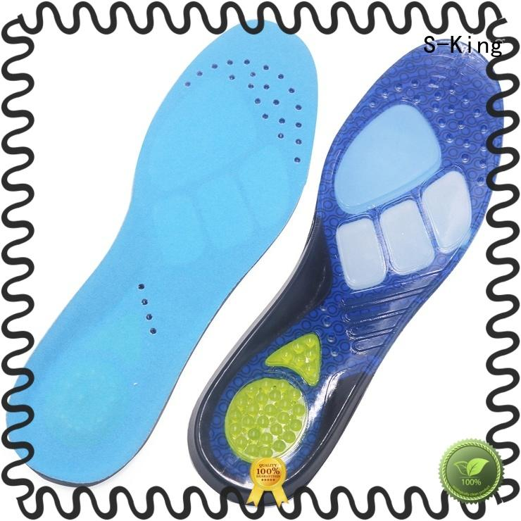 S-King replacement insole gel pads boots for foot