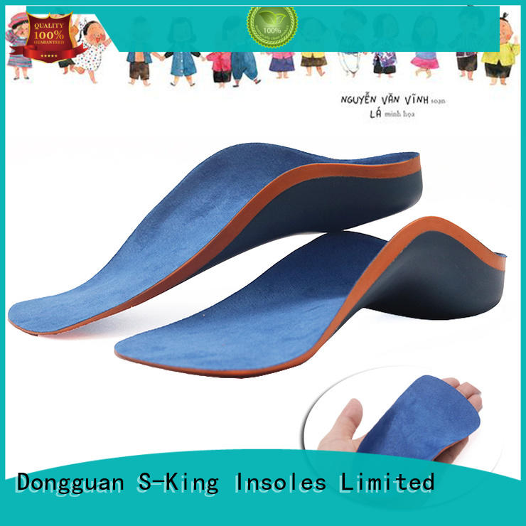 Hot kid insoles support S-King Brand