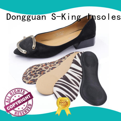 Memory foam disposable shoe insole for lady shoes