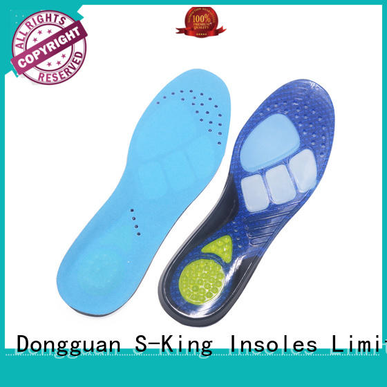 S-King Top ladies gel insoles for foot care