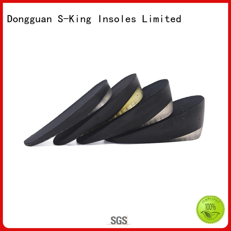 S-King Wholesale best height insoles for increase height