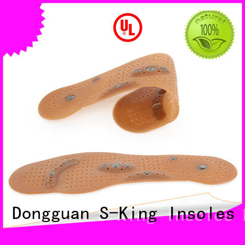 S-King massage magnetic foot insoles improve your blood circulation for walking