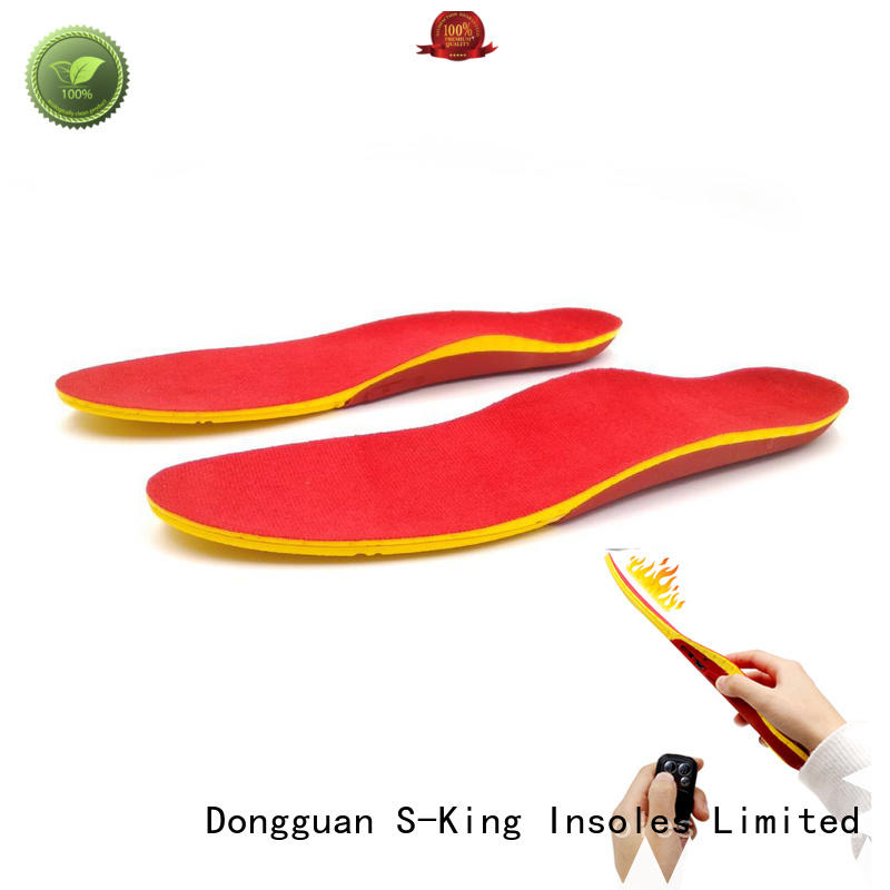 power heated heated insoles S-King Brand
