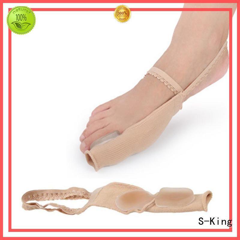 valgus separator medical gel toe separators for bunions S-King manufacture