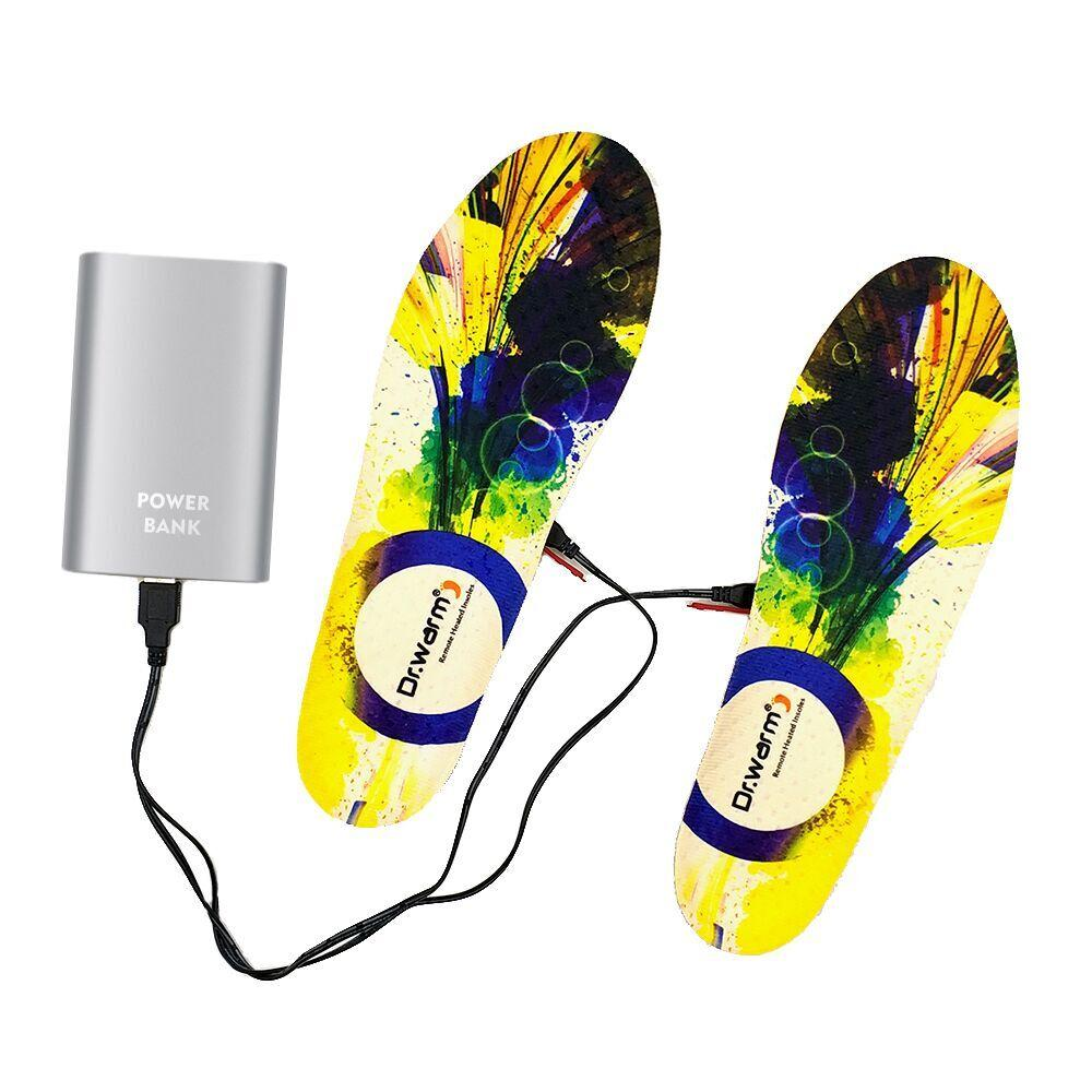 S-King-Professional Remote Control Shoes Heated Insoles Rechargeable Usb Heated-1