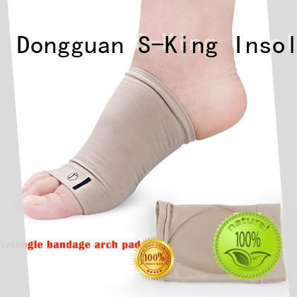 Wholesaler Foot care silicone Sleeve Flat Feet Orthotics Plantar Fasciitis Socks