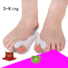 fabric corn gel toe separators for bunions S-King Brand