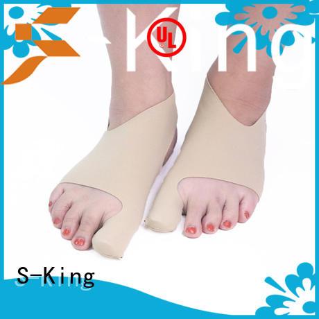 S-King leather moisturizing socks customized gel heel