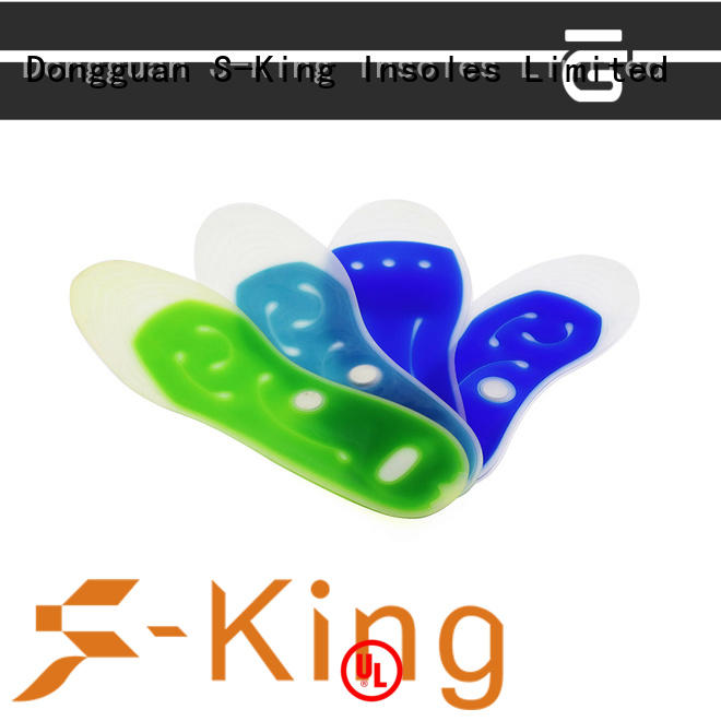 orthotic foot relief insoles liquid filled liquid for walking S-King