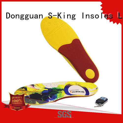 S-King Remote Control warm insoles for boots Temperature control for sailing