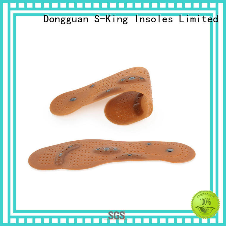 High-quality magnetic foot insoles Supply for standing