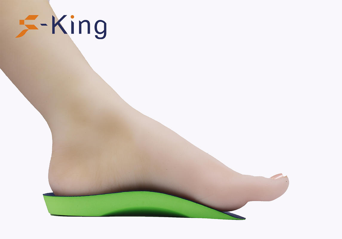 S-King-34 Eva Cushion Insole, High Arch Support Orthopedic Insole For Flat Foot-1