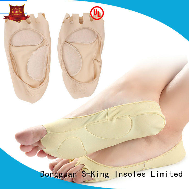S-King natracure gel forefoot cushions factory for foot care