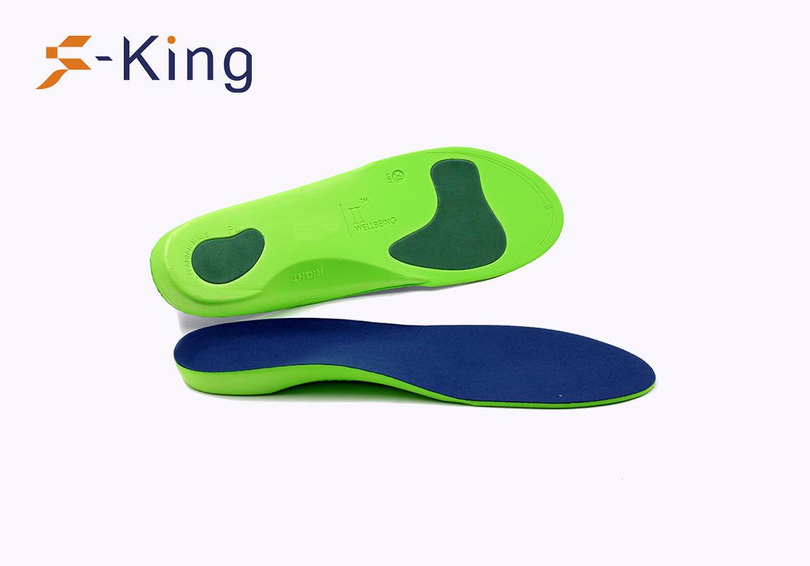 S-King-Orthopedic Shoe Insoles, Adjustable Full Lenghth Eva Orthotic Shoe Insole
