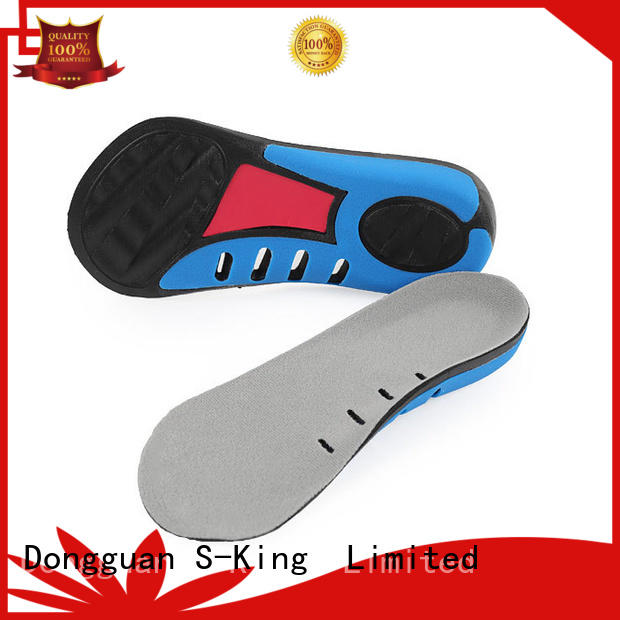 gel orthotic insoles anti for footcare health S-King