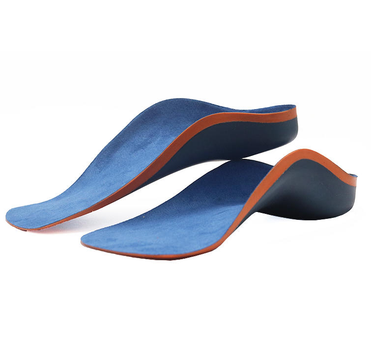 High arch support  kid orthotics insoles for Flat foot Plantar Fasciitis Bowlegs correction-2