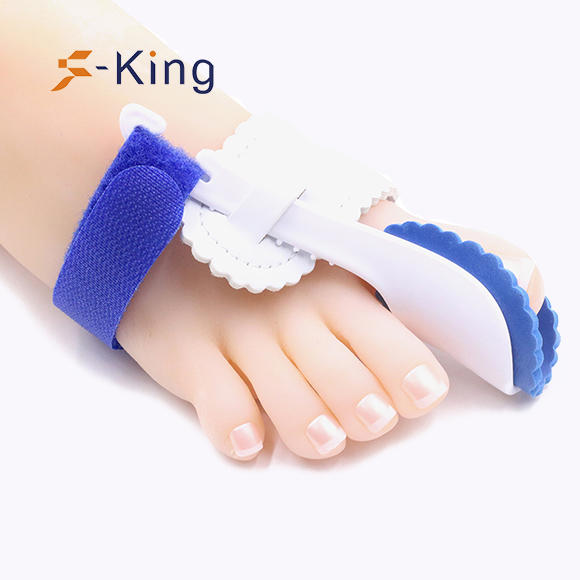 S-King-Hallux Valgus Splint, Toe Stretcher Separator Foot Pain Relief Silicone-2