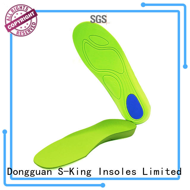 S-King cushion orthotic shoe soles high arch support for walk