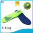 flat lenghth orthotic insoles S-King Brand