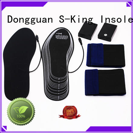 battery heated insoles remote rechargeable heated insoles wire company
