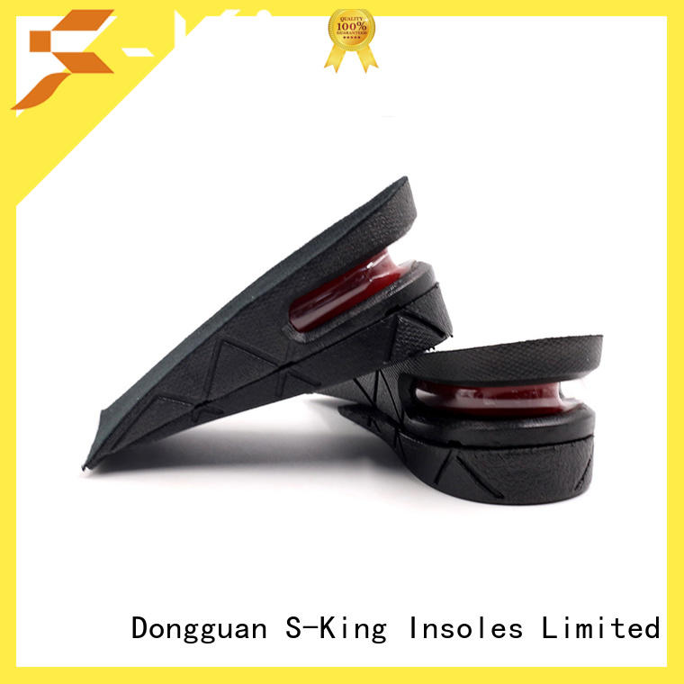 2-layer Height Increase Elevator Shoes Invisible Insole Lift Kit Heels Inserts for Women and Men