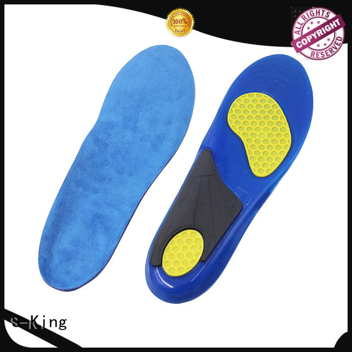 S-King sports gel insoles manufacturers for foot care