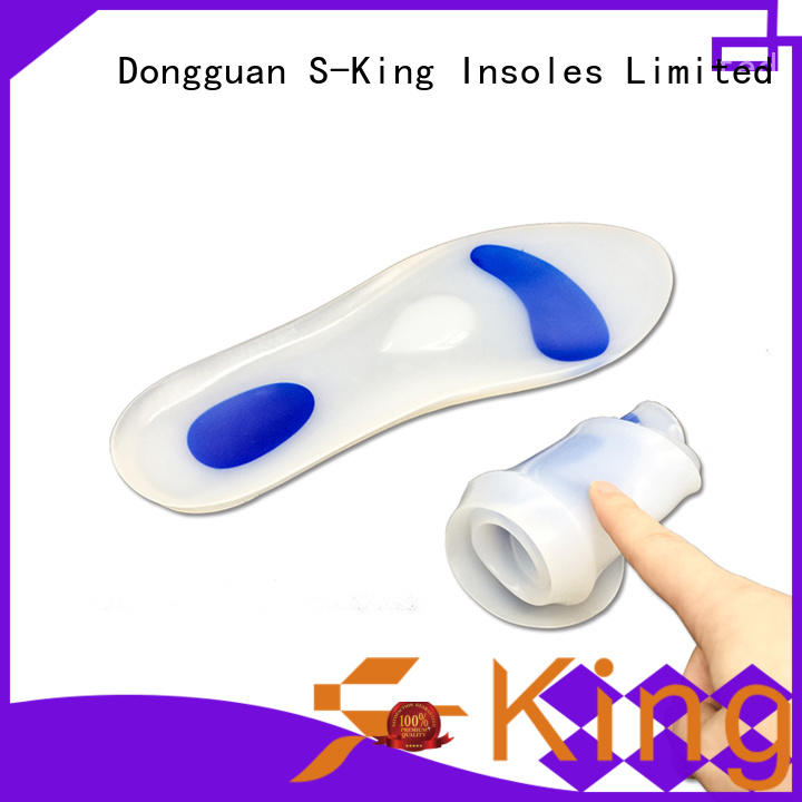 S-King silicone heel shoe inserts price for stand
