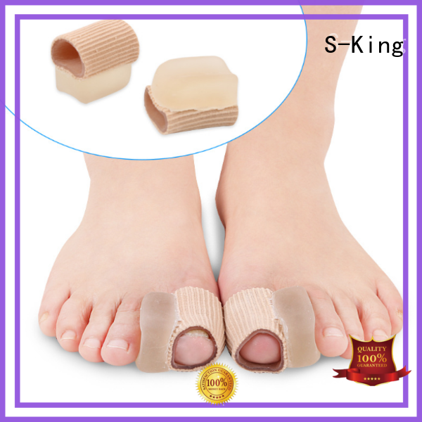 valgus Custom selling gel toe spacers fabric S-King