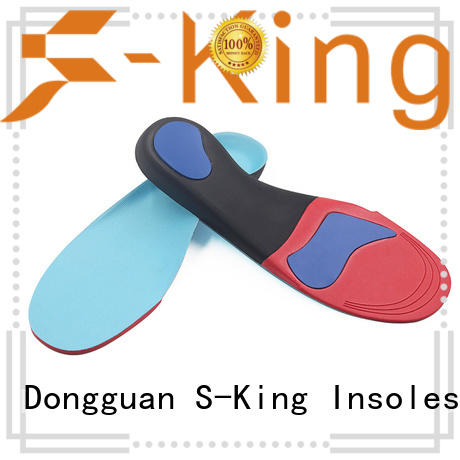 Quality S-King Brand orthotic insoles for flat feet foot