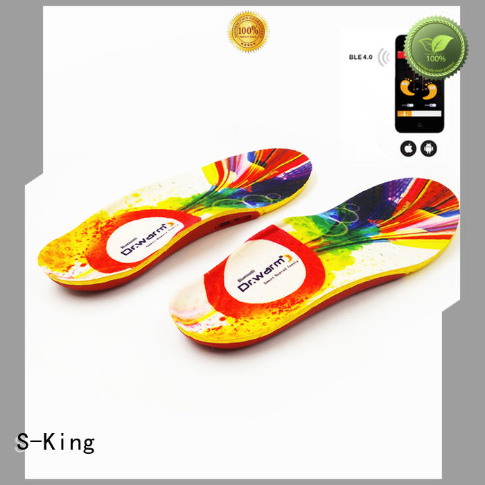 battery heated insoles battery huntingskiingfishing S-King Brand