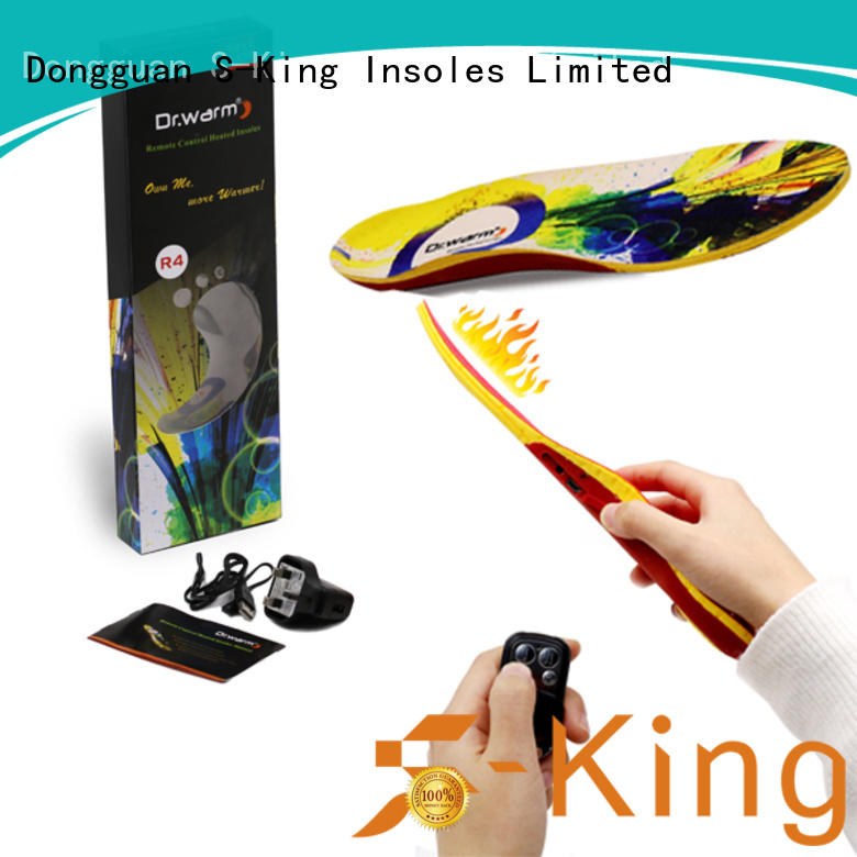 huntingskiingfishing insoles foot OEM heated insoles S-King