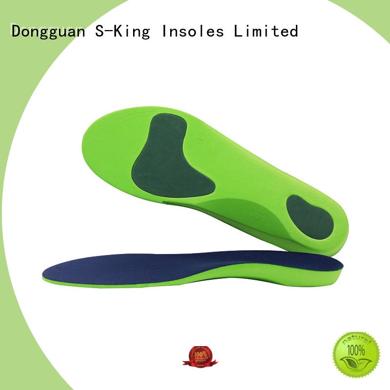 insoles orthotic soles with arch support for stand S-King