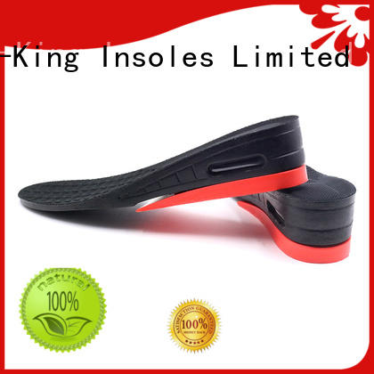 shoes shoe height insoles invisible S-King company
