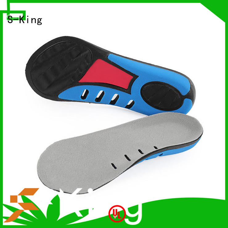S-King Top custom made foot orthotics factory for walk