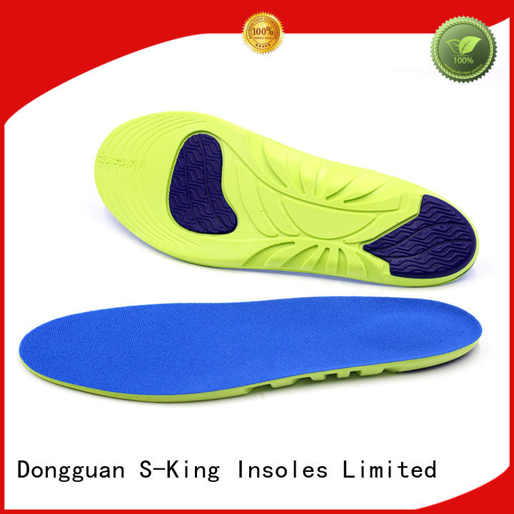 athletic sports foam insoles comfort S-King Brand company