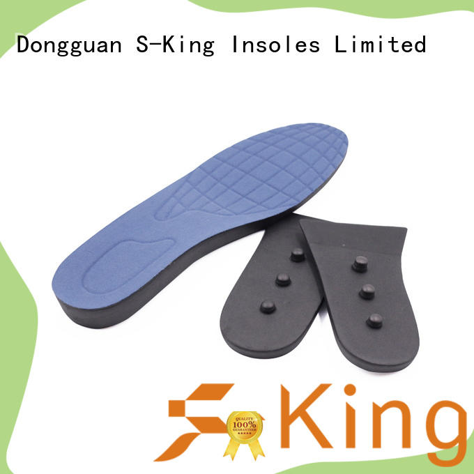 S-King mens insole lifts company