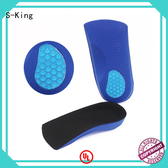 S-King Top orthotic insoles for heel pain Suppliers for eliminate pain